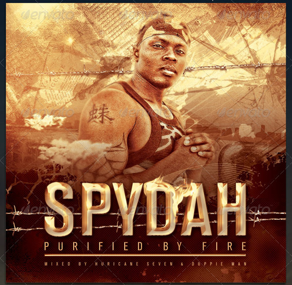 Spy Dah Complete CD Cover Artwork Template