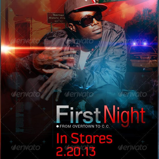 First Night Mixtape Template