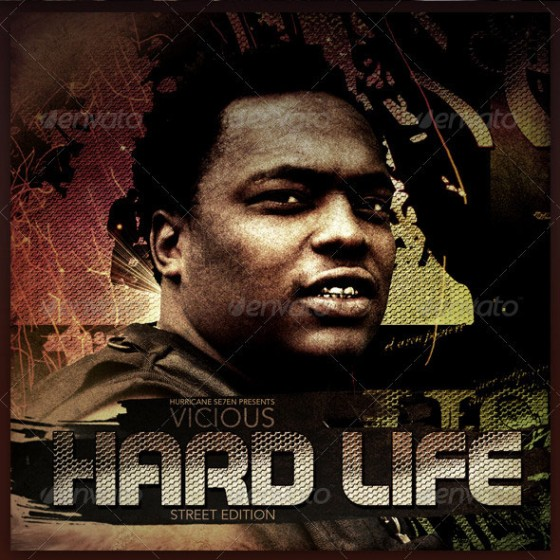 Hard Life Mixtape Template