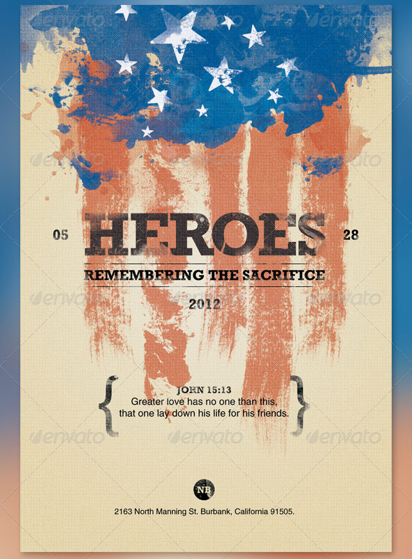 The Most Extravagant Memorial Day Flyer Templates - Seraphimchris