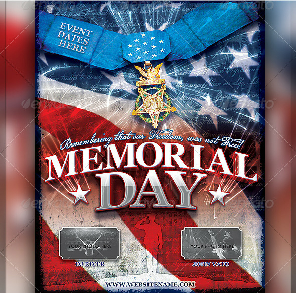The Most Extravagant Memorial Day Flyer Templates SeraphimChris – Memorial Day Flyer Template