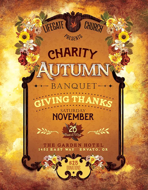 Charity Autumn Banquet