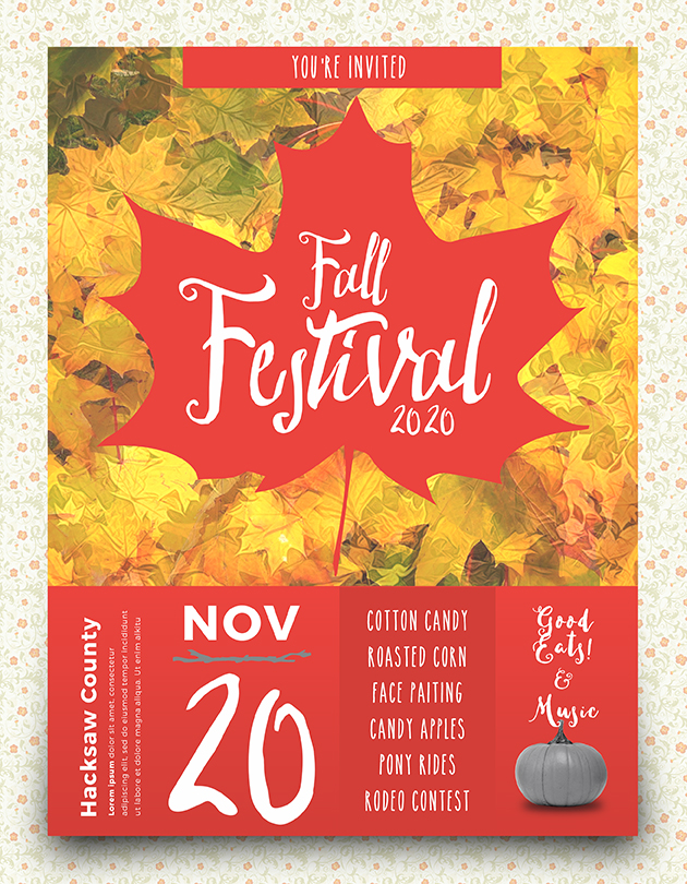 Fall Festival Flyer Full Page copy