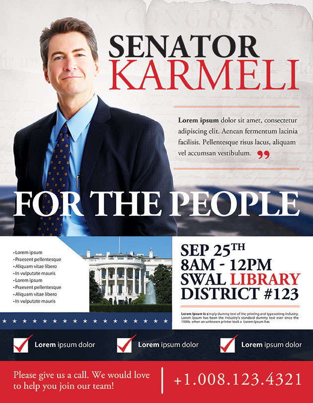 Best Political Flyer Templates - Seraphimchris: Graphic Design And