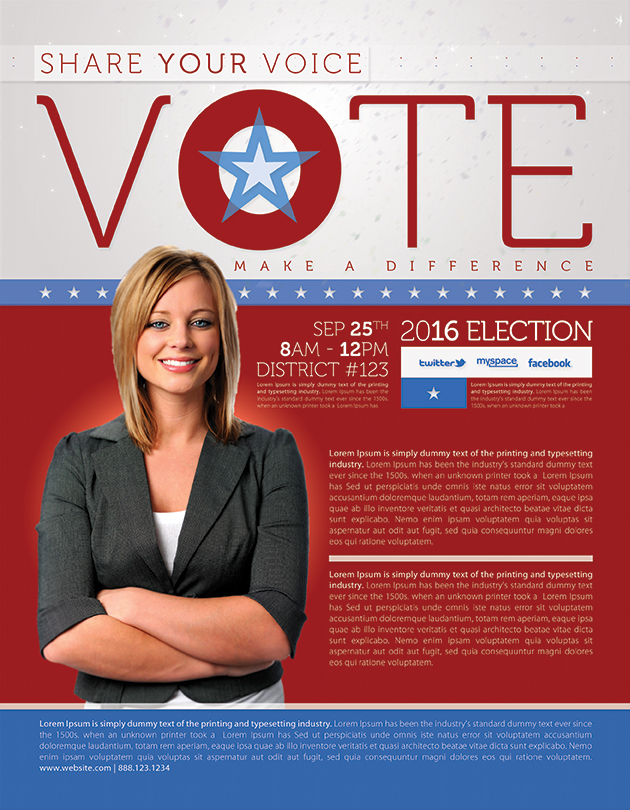 Best Political Flyer Templates SeraphimChris Graphic Design and – Political Flyer Template