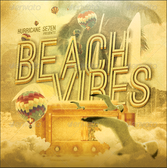 Beach_Vibes_CD_COVER_ARTWORK_TEMPLATE_Preview