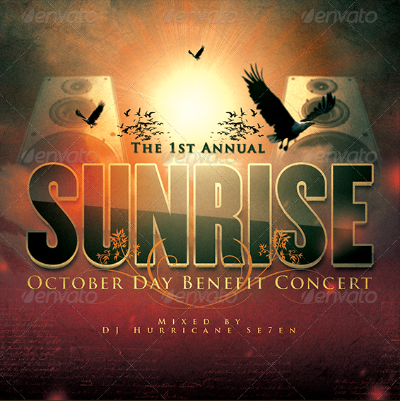 SUNRISE-BENEFIT-CONCERT-CD-COVER-ARTWORK-TEMPLATE-Preview