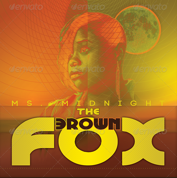 THE-BROWN-FOX-CD-COVER-ARTWORK-TEMPLATE-Preview